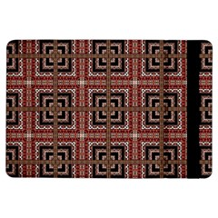 Check Ornate Pattern iPad Air Flip