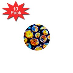 Woodpile Abstract 1  Mini Magnet (10 pack)