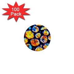 Woodpile Abstract 1  Mini Buttons (100 pack)