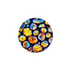 Woodpile Abstract Golf Ball Marker (4 pack)