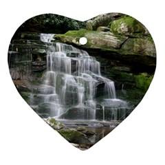 ELAKALA FALLS Heart Ornament (2 Sides)