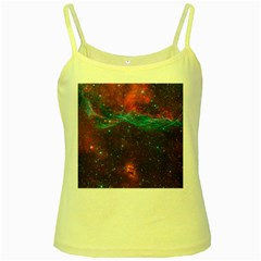 Vela Supernova Yellow Spaghetti Tanks