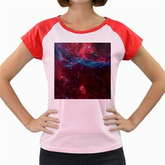 Vela Supernova Women s Cap Sleeve T Shirt