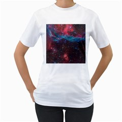 VELA SUPERNOVA Women s T-Shirt (White) (Two Sided)