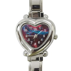 Vela Supernova Heart Italian Charm Watch