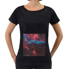 Vela Supernova Women s Loose Fit T Shirt (black)