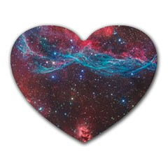 Vela Supernova Heart Mousepads