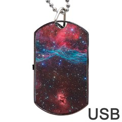Vela Supernova Dog Tag Usb Flash (two Sides)