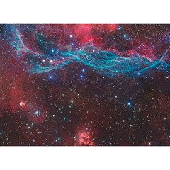 Vela Supernova Birthday Cake 3d Greeting Card (7x5)
