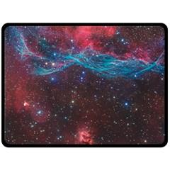 Vela Supernova Double Sided Fleece Blanket (large)