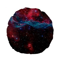 Vela Supernova Standard 15  Premium Flano Round Cushions
