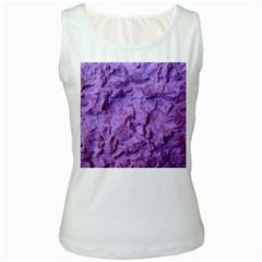 Purple Wall Background Women s Tank Tops