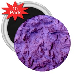 Purple Wall Background 3  Magnets (10 pack)