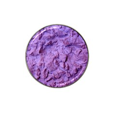 Purple Wall Background Hat Clip Ball Marker