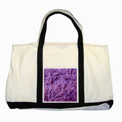 Purple Wall Background Two Tone Tote Bag