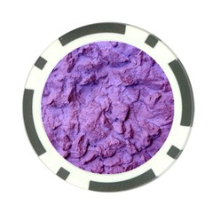 Purple Wall Background Poker Chip Card Guards