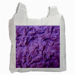 Purple Wall Background Recycle Bag (one Side)