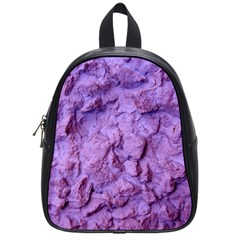 Purple Wall Background School Bags (Small)