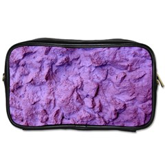 Purple Wall Background Toiletries Bags 2-Side