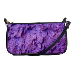 Purple Wall Background Shoulder Clutch Bags
