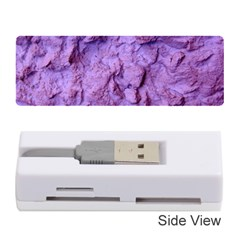 Purple Wall Background Memory Card Reader (stick)