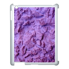 Purple Wall Background Apple iPad 3/4 Case (White)