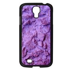 Purple Wall Background Samsung Galaxy S4 I9500/ I9505 Case (black)