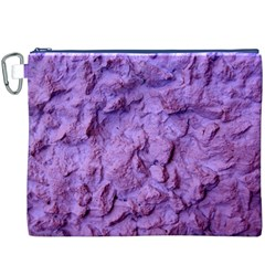 Purple Wall Background Canvas Cosmetic Bag (XXXL)