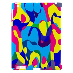 Colorful chaosApple iPad 3/4 Hardshell Case (Compatible with Smart Cover)