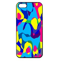 Colorful chaos			Apple iPhone 5 Seamless Case (Black)