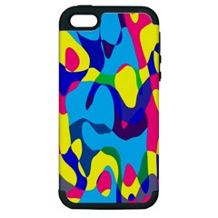 Colorful chaos			Apple iPhone 5 Hardshell Case (PC+Silicone)