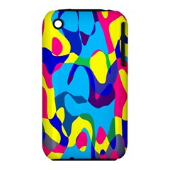 Colorful chaosApple iPhone 3G/3GS Hardshell Case (PC+Silicone)
