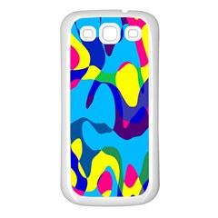 Colorful chaosSamsung Galaxy S3 Back Case (White)
