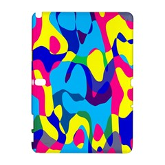 Colorful chaosSamsung Galaxy Note 10.1 (P600) Hardshell Case
