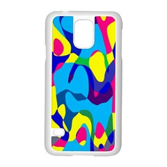 Colorful chaos			Samsung Galaxy S5 Case (White)
