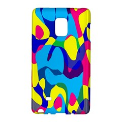 Colorful chaosSamsung Galaxy Note Edge Hardshell Case