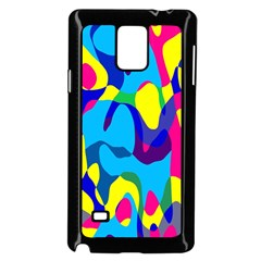 Colorful chaosSamsung Galaxy Note 4 Case (Black)