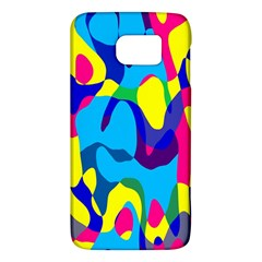 Colorful chaosSamsung Galaxy S6 Hardshell Case
