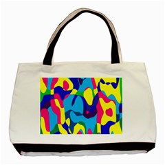 Colorful chaosBasic Tote Bag