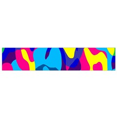 Colorful chaos Flano Scarf