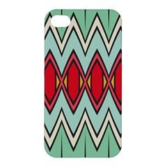 Rhombus and chevrons patternApple iPhone 4/4S Premium Hardshell Case