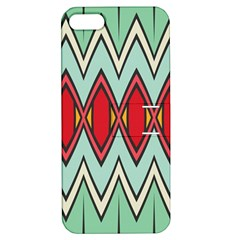 Rhombus and chevrons pattern			Apple iPhone 5 Hardshell Case with Stand