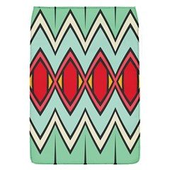 Rhombus and chevrons patternRemovable Flap Cover (S)