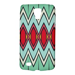 Rhombus and chevrons patternSamsung Galaxy S4 Active (I9295) Hardshell Case