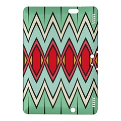 Rhombus and chevrons patternKindle Fire HDX 8.9  Hardshell Case