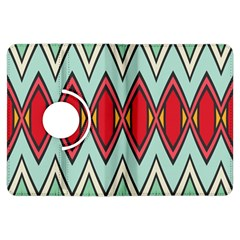 Rhombus and chevrons pattern			Kindle Fire HDX Flip 360 Case