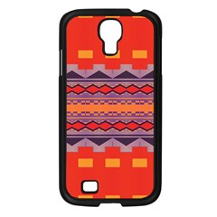 Rhombus rectangles and trianglesSamsung Galaxy S4 I9500/ I9505 Case (Black)