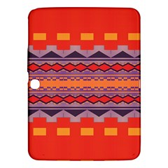 Rhombus rectangles and triangles			Samsung Galaxy Tab 3 (10.1 ) P5200 Hardshell Case