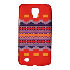 Rhombus rectangles and trianglesSamsung Galaxy S4 Active (I9295) Hardshell Case