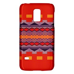 Rhombus Rectangles And Triangles			samsung Galaxy S5 Mini Hardshell Case
